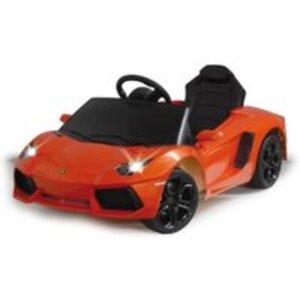 Lamborghini Aventador orange