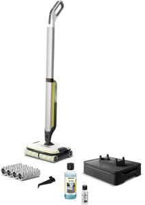 FC 7 Cordless Premium Bodenwischer silber/gelb