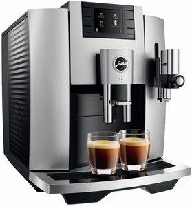 E8 (Modell 2020) Kaffee-Vollautomat Moonlight Silver