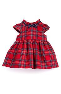 Kleid mit Tartanmuster für Babys (Mädchen)