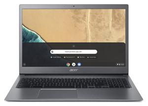 ACER Chromebook 715 (CB715-1WT-3415) Aluminium-Unibody Chromebook mit Core™ i3, 8 GB RAM, 128 GB & Intel® UHD Grafik 620 in Anthrazit