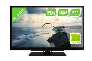 OK. OLE 24750HV-TB DVD,  LED TV, Schwarz