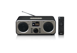 LENCO DIR-140 Internetradio in Schwarz