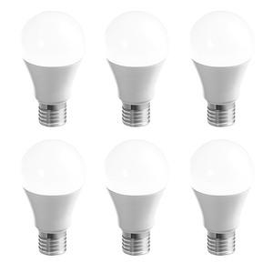 "I-Glow LED Leuchtmittel ""Birne"", E27, 10W, 200 Grad, 806 Lumen 6er Set"