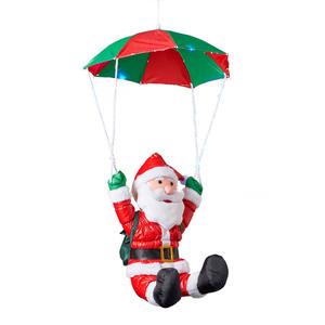 I-Glow XL-LED-Weihnachtsmann - Mit LED-Fallschirm