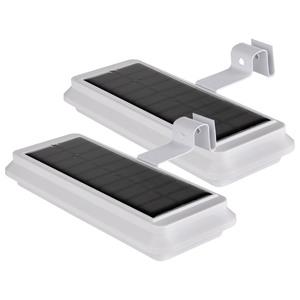 I-Glow Solar-Dachrinnenlicht - 2er-Set