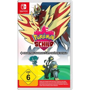 Nintendo Switch Pokémon Schild inkl. Erweiterungspass