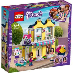 LEGO® Friends - Bundle 41427 Emmas Mode-Geschäft + 41428 Strandhaus mit Tretboot