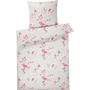 """Estella Jersey-Bettwäschegarnitur """"Floral Allover"""", Blumenmuster"""