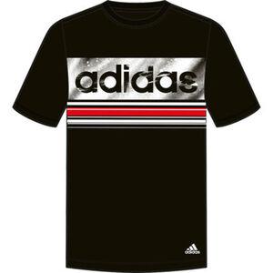 """adidas T-Shirt """"Essential Linear"""", Logo, Rundhals, für Herren"""