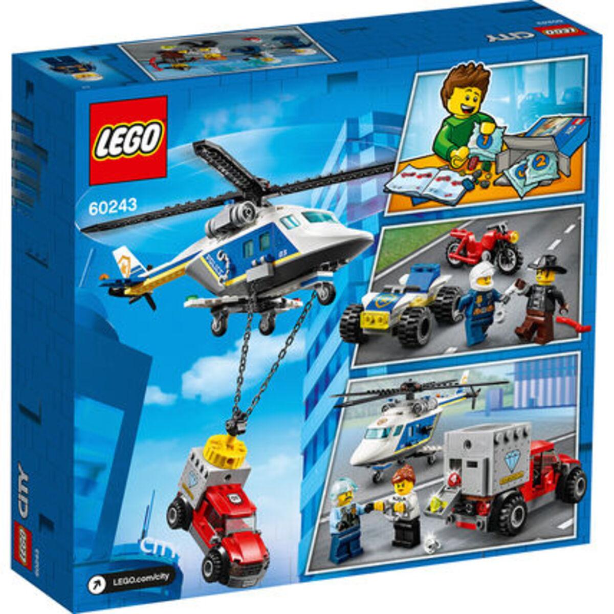 Bild 2 von LEGO® City - Bundle 60243 Verfolgungsjagd mit dem Polizeihubschrauber + 60244 Polizeihubschrauber-Transport