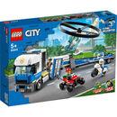 Bild 4 von LEGO® City - Bundle 60243 Verfolgungsjagd mit dem Polizeihubschrauber + 60244 Polizeihubschrauber-Transport