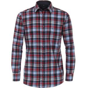 Casa Moda Freizeithemd, Comfort Fit, Kariert, Button-Down-Kragen, für Herren