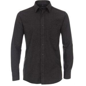 Casa Moda Freizeithemd, Comfort Fit, Kentkragen, Brusttasche, Allover-Print, für Herren