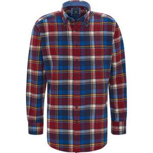 Dunmore Freizeithemd, kariert, Langarm, Button-Down-Kragen, für Herren