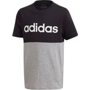 """adidas T-Shirt """"Linear Colorblock"""", Rundhals, zweifarbig, für Jungen"""