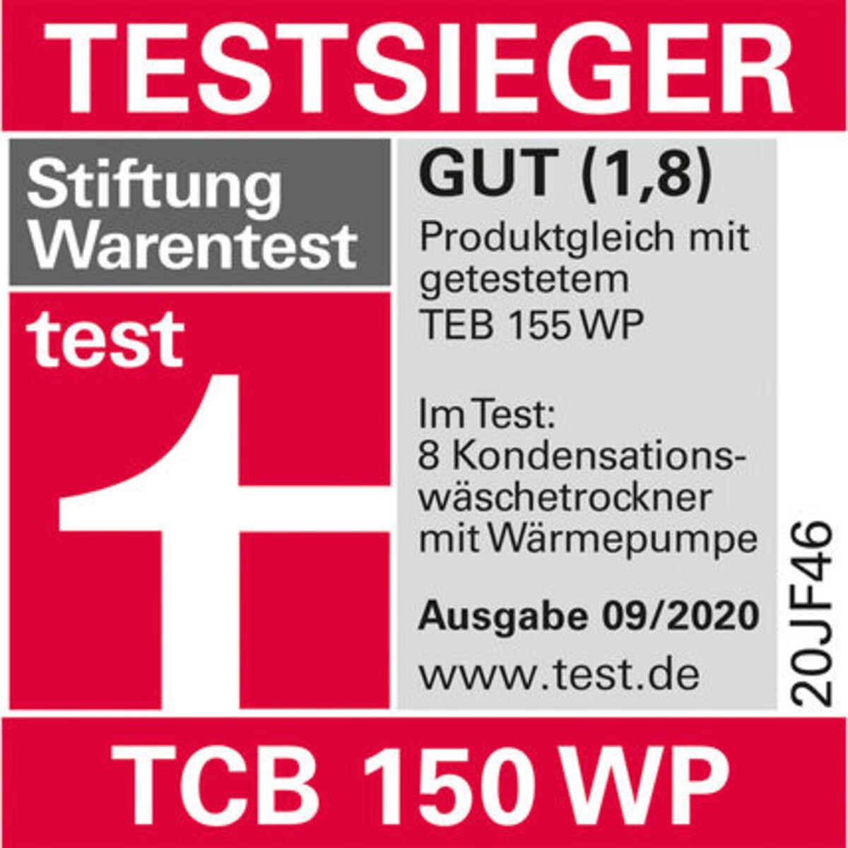 Bild 4 von Miele TCB 150 WP Wärmepumpentrockner, A++