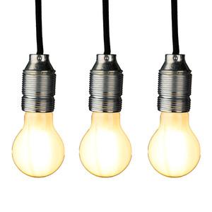 Osram Filament-LED-Leuchtmittel, Birne E27 matt - 3er-Set