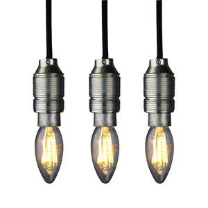 Osram Filament-LED-Leuchtmittel, Kerze E14 klar - 3er-Set