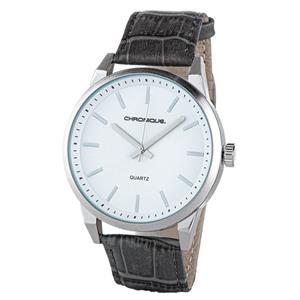 Chronique Herren Armbanduhr, Ø ca. 48 mm - Weiß