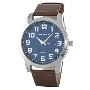 Chronique Herren Armbanduhr, Ø ca. 48 mm - Blau