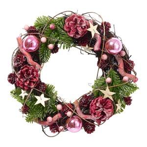 Dekokranz im Weihnachts-Design, Ø ca. 25cm