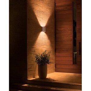 Philips Hue LED-Außenwandleuchte Resonate Silber EEK: A+