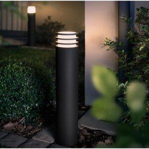 Philips Hue LED-Wegeleuchte Lucca Anthrazit EEK: A+