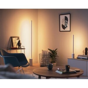 Philips Hue LED Tischleuchte Signe Aluminium Bluetooth EEK: A