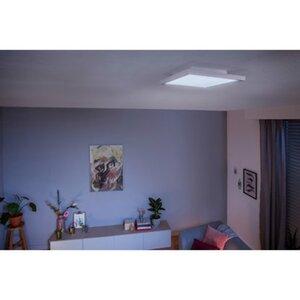 Philips Hue White Ambiance LED-Panelleuchte Aurelle 4,6 x 30 x 30 cm Weiß 2200lm