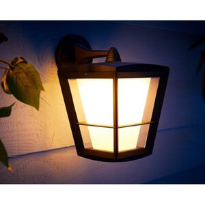 Philips Hue White & Color Amb. Econic LED-Laternenleuchte hängend EEK: A