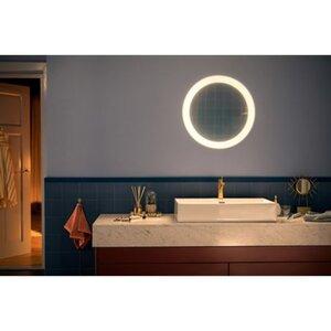 Philips Hue White Ambiance Spiegel mit Beleuchtung Adore Weiß 2400lm Dimmschalt.