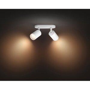 Philips Hue White Spot Fugato 2 flg. Weiß 2 x 350 lm Bluetooth EEK: A+