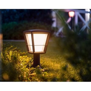 Philips Hue White & Color Ambiance Econic LED-Sockelleuchte EEK: A