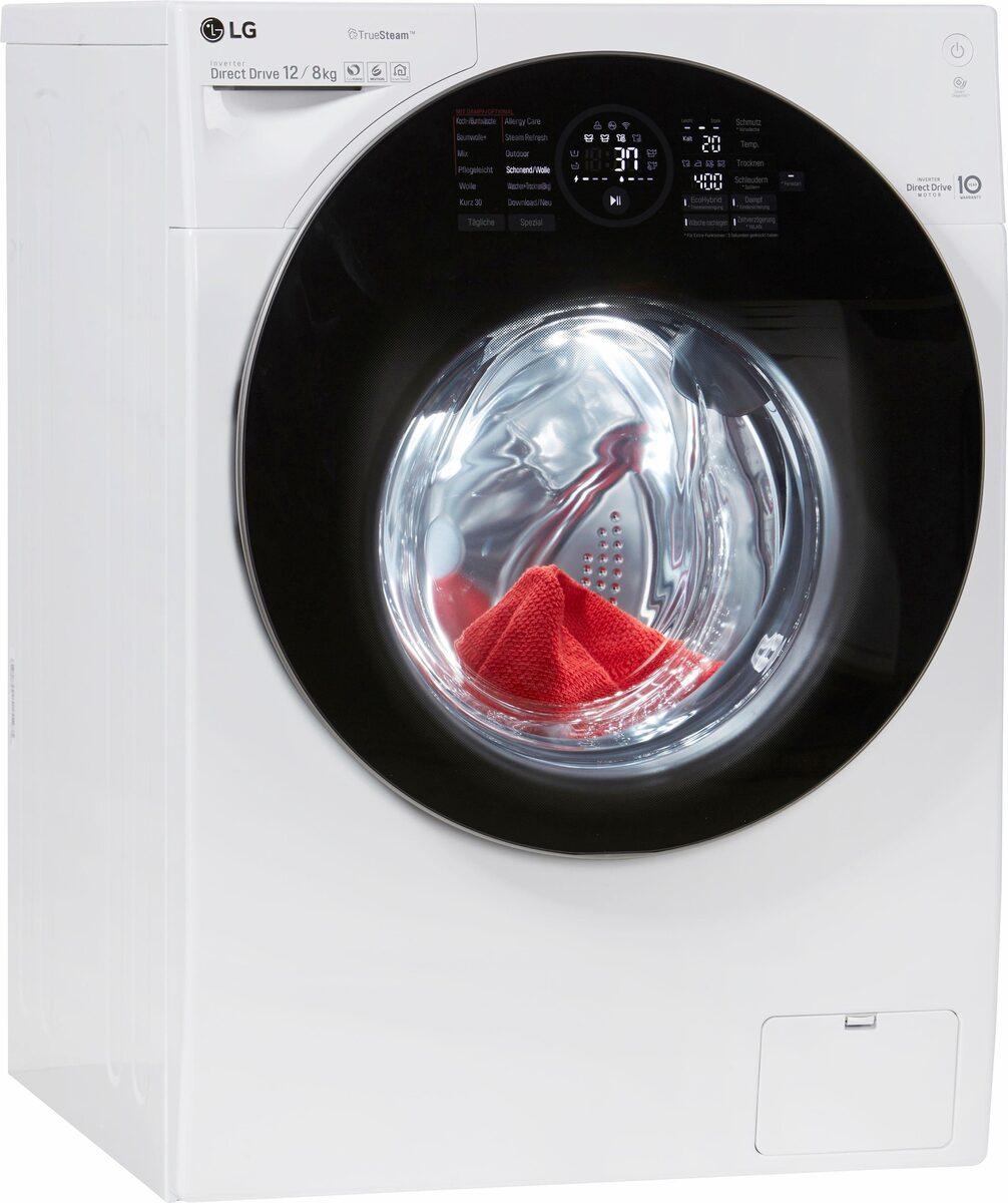 Bild 1 von LG Waschtrockner F16WD128GH, 12 kg/8 kg, 1600 U/Min