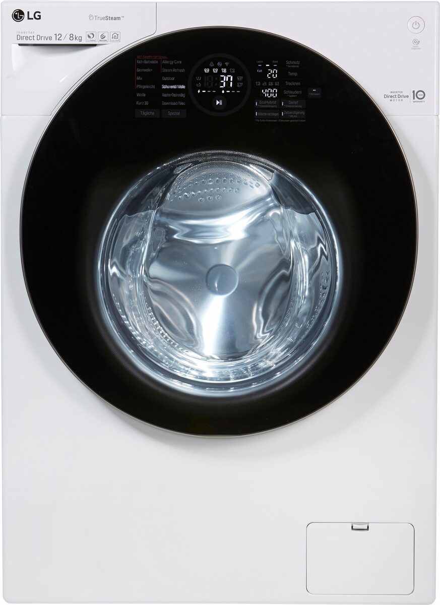 Bild 3 von LG Waschtrockner F16WD128GH, 12 kg/8 kg, 1600 U/Min