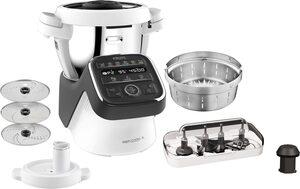 Krups Küchenmaschine mit Kochfunktion HP50A8 Prep&Cook XL, 1550 W, 4,5 l Schüssel