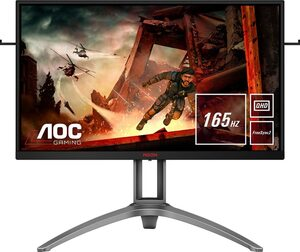 AOC AG273QX Gaming-Monitor (2560 x 1440 Pixel, QHD, 1 ms Reaktionszeit, 165 Hz)