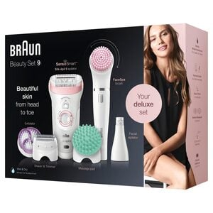 Braun Epilierer Silk-épil Deluxe Beauty-Set 9-995 9-in-1