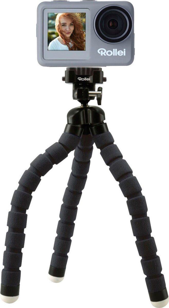 Bild 1 von Rollei »9s Plus« Action Cam (4K Ultra HD, WLAN (Wi-Fi), Rollei Monkey Pod-Set)