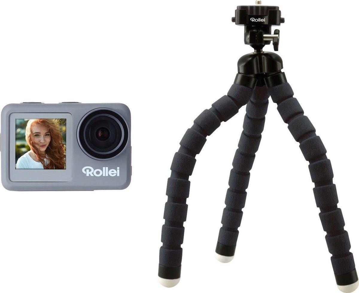 Bild 2 von Rollei »9s Plus« Action Cam (4K Ultra HD, WLAN (Wi-Fi), Rollei Monkey Pod-Set)