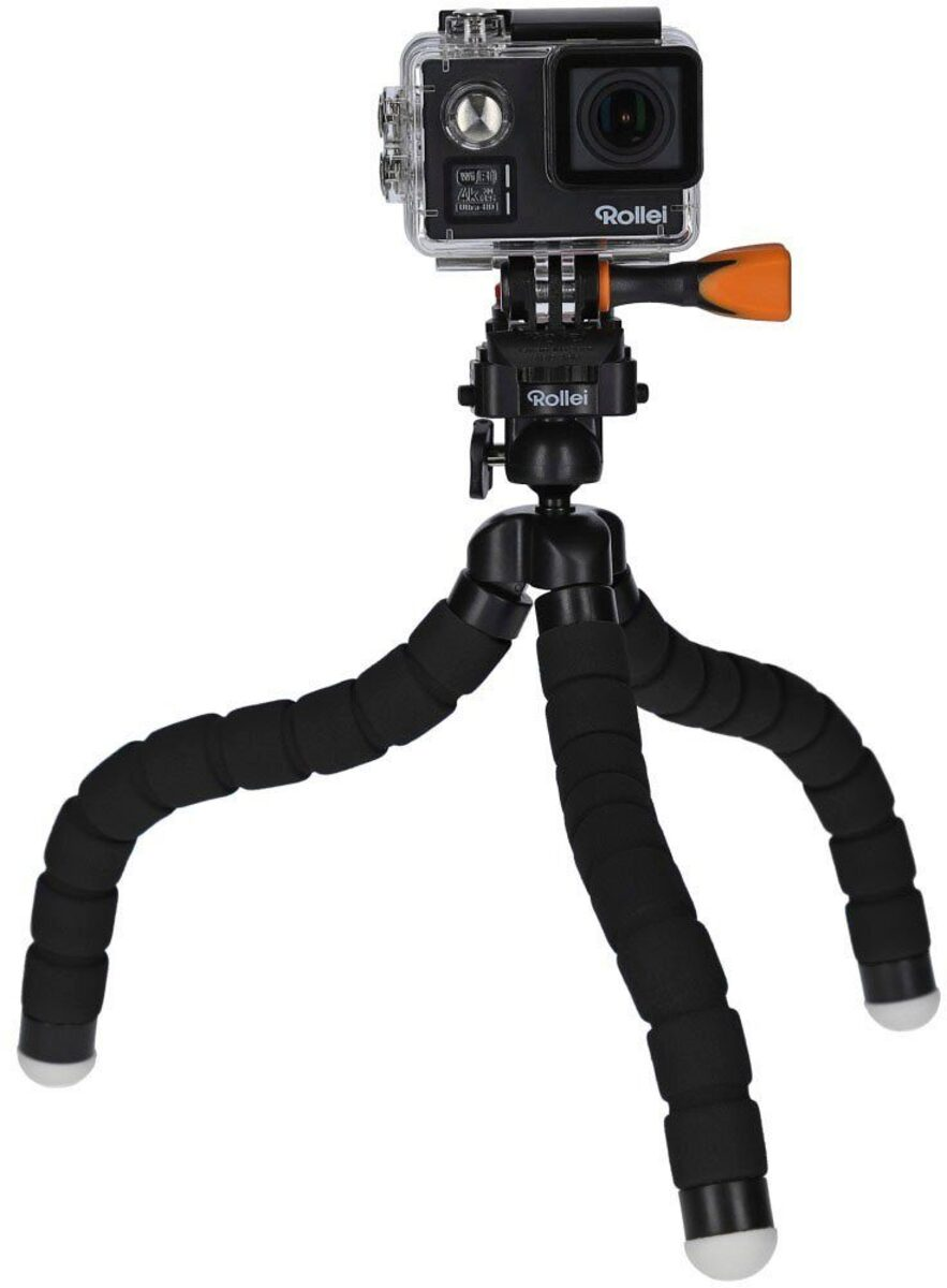 Bild 3 von Rollei »9s Plus« Action Cam (4K Ultra HD, WLAN (Wi-Fi), Rollei Monkey Pod-Set)