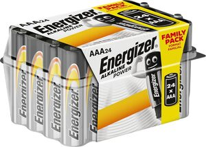 Energizer »Alkaline Power AAA Batterien 24er Box« Batterie