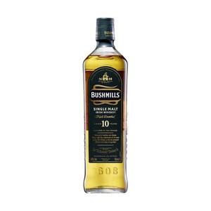 Bushmills Single Malt Irish Whiskey 10 Jahre 40 % Vol., jede 0,7-l-Flasche