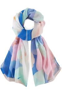 Codello, Plissee-Schal Shades Of Sea in hellblau, Tücher & Schals für Damen