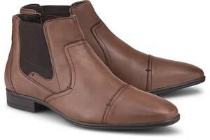 COX, Chelsea-Boots in mittelbraun, Boots für Herren