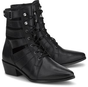 Another A, Cut-Out-Stiefelette in schwarz, Stiefeletten für Damen