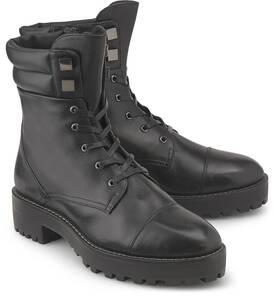 BRUNO PREMI, Plateau-Bootie in schwarz, Boots für Damen