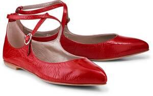 AGL, Lack-Ballerina in rot, Ballerinas für Damen