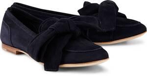 AGL, Leder-Slipper in dunkelblau, Slipper für Damen